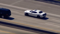 Dodge Challenger Hellcat na úprku před policií
