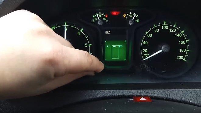 Tetris na palubním počítači vozu GAZelle Next