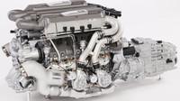 Do nejmenšího detailu propracovaný model motoru z Bugatti Chiron