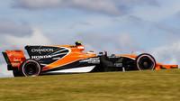 Stoffel Vandoorne s McLarenem MCL32 v Austinu