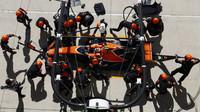 Stoffel Vandoorne s McLarenem v Austinu