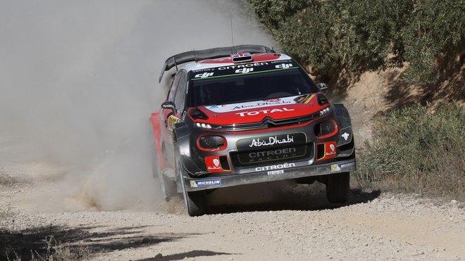 Meeke naznačil možnosti Citroënu na šotolině