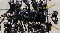 Romain Grosjen v závodě v Austinu