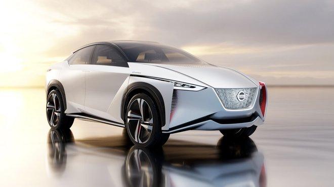 Koncept elektrického a plně autonomního SUV Nissan IMx