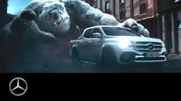 Reklamní spot nového Mercedesu x-Class