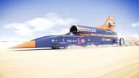 Speciální stroj Bloodhound SSC se během prvního veřejného testu pokusí překonat rychlost 200 MPH, tedy cca 322 km/h.
