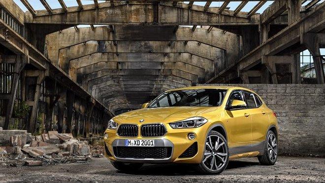 Nové BMW X2