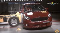 Ford Ka prodávaný v Latinské Americe pohořel během Crash Testu. Za ochranu posádky během bočního nárazu si odnesl 0 hvězd