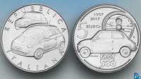 Mince s motivem Fiatu 500