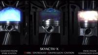 Tajemství motorů Skyactiv-X