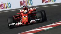 Sebastian Vettel v Mexiku s nejvyšší rychlostí