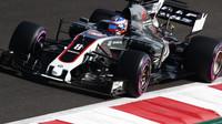 Romain Grosjean během kvalifikace v Mexiku