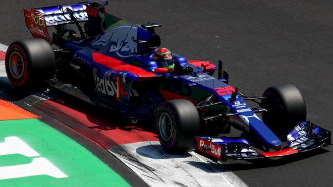 Brendon Hartley s Toro Rosso STR12