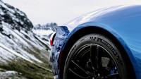 Ford GT si v rakouských Alpách vedl skvěle