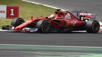 Sebastian Vettel v závodě v Mexiku