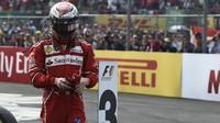 Kimi Räikkönen po závodě v Mexiku