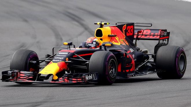 Max Verstappen si jede pro další vítězství
