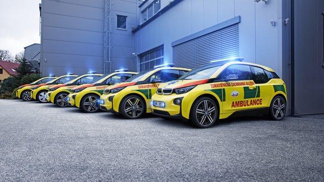 BMW i3 pro potřeby záchranných služeb České republiky
