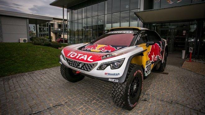 Vítěz posledního ročníku Rally Dakar, Peugeot 3008 DKR