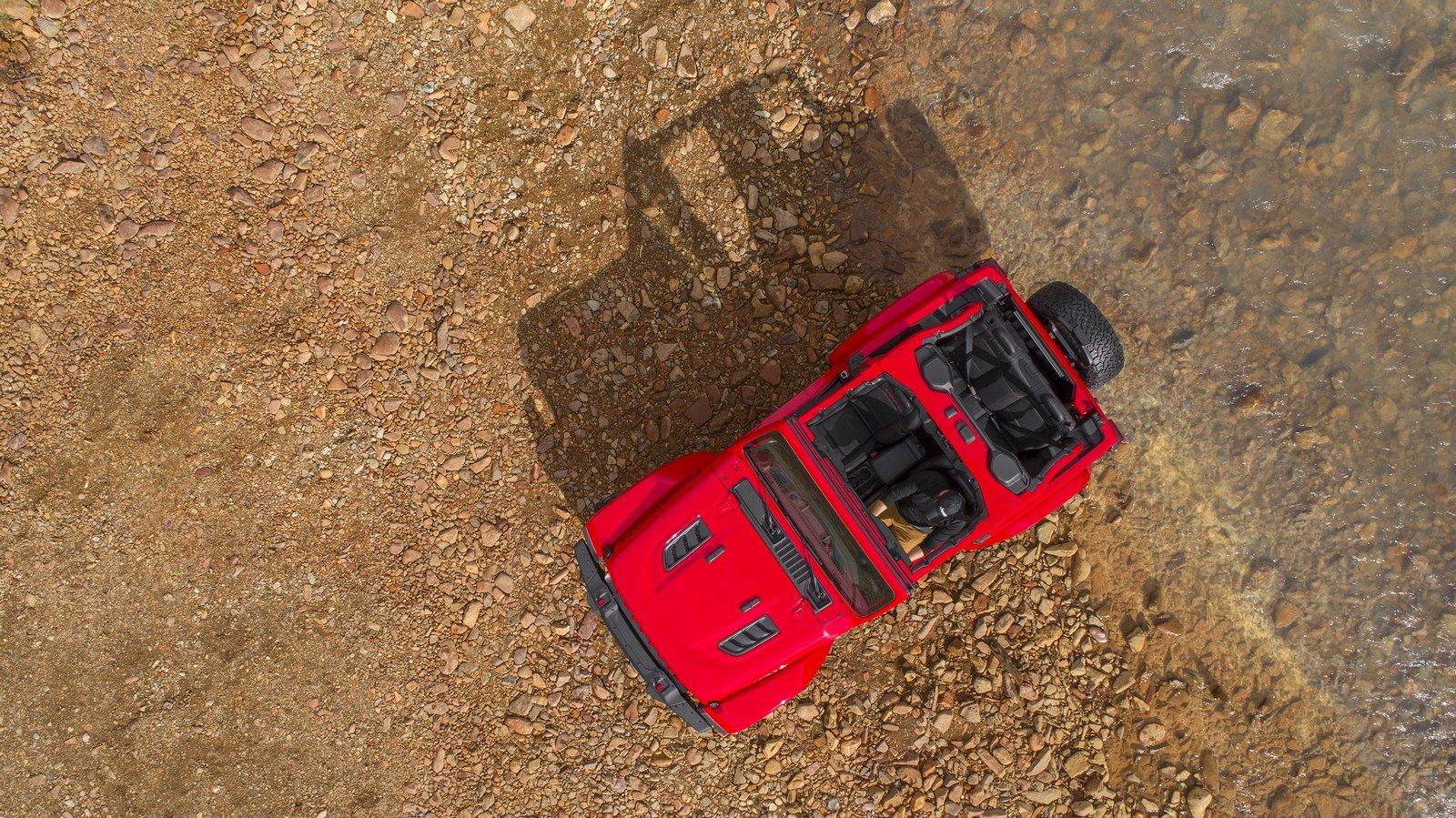 První snímky nového off-roadu Jeep Wrangler