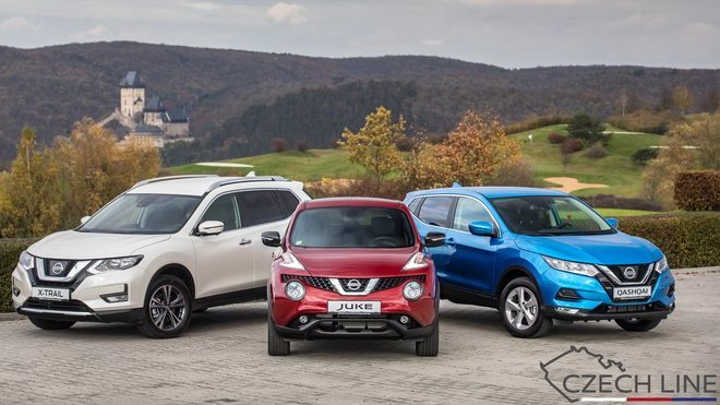 Nissan přichází s akční modelovou řadou CZECH LINE