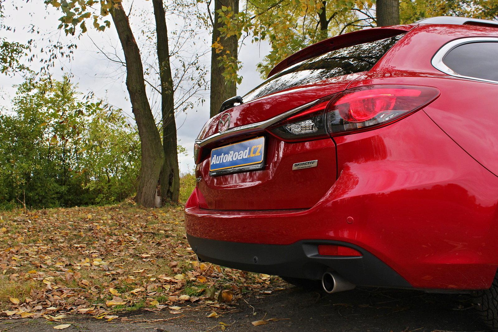 Mazda 6 Wagon 2.0 Skyactiv-G ve verzi Attraction