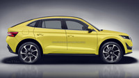 Škoda Kodiaq GT - návrh pro Indian Autos Blog vytvořil SRK Designs