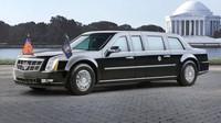 Služební automobil Donalda Trumpa, který zdědil po Baracku Obamovi