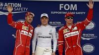 Tři nejlepší jezdci po kvalifikaci v Brazílii