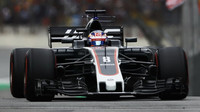 Romain Grosjean s Haasem VF-17