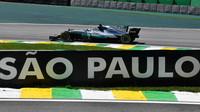 Valtteri Bottas v kvalifikaci v Brazílii