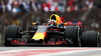 Daniel Ricciardo v kvalifikaci v Brazílii
