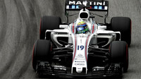Felipe Massa v kvalifikaci v Brazílii