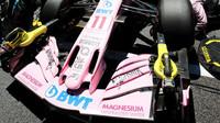 Přední křídlo vozu Force India VJM10 - Mercedes v Brazílii
