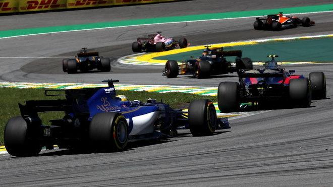 Sauber ve Velké ceně Brazílie 2017