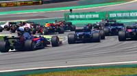 Brendon Hartley po startu v závodě v Brazílii