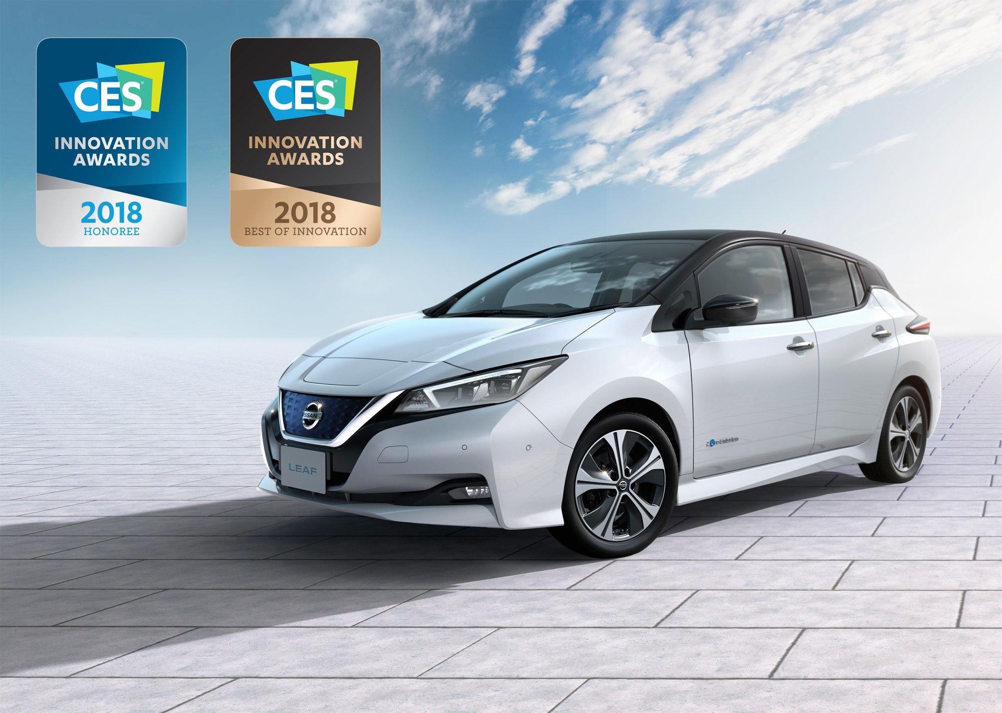 Nový Nissan LEAF získal první mezinárodní cenu
