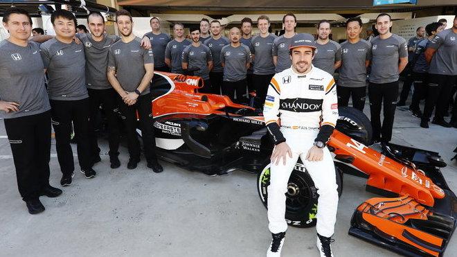McLaren chce letos s novým motorem dosáhnout velký pokrok, spoléhat bude i na umění dvojnásobného šampiona Fernanda Alonsa