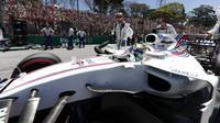 Felipe Massa před závodem v Brazílii