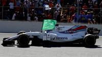 Felipe Massa po závodě v Brazílii