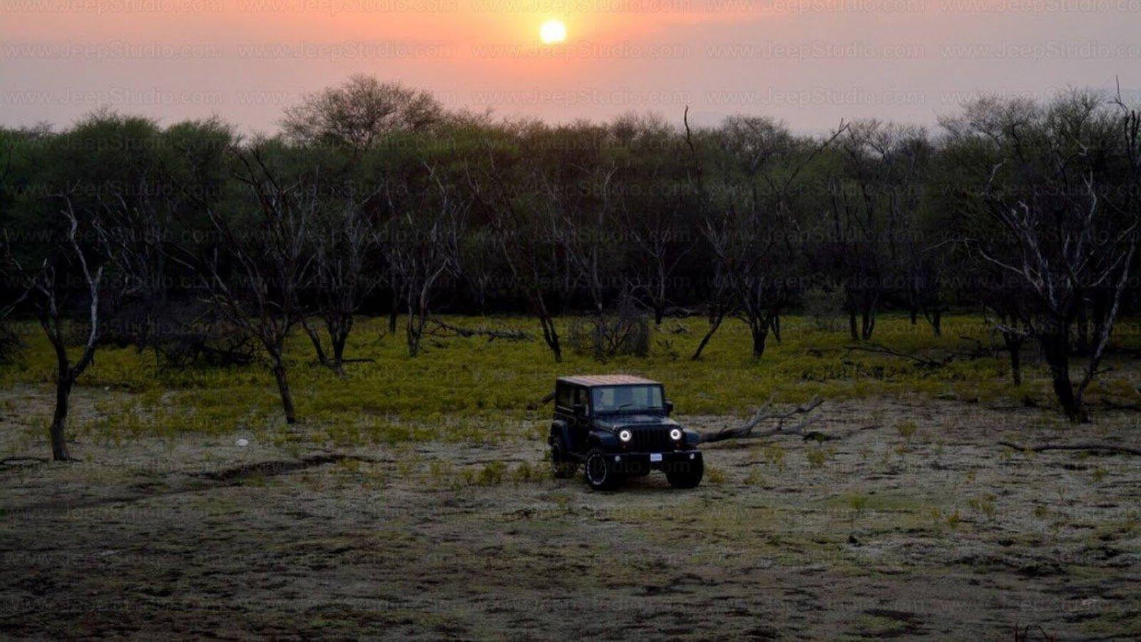Replika Jeepu Wrangler od Jeep Studio