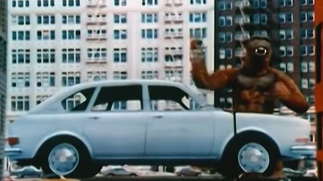 Reklama na Volkswagen 411