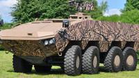 Stroje Patria AMV se dodávají v řadě různých modifikací