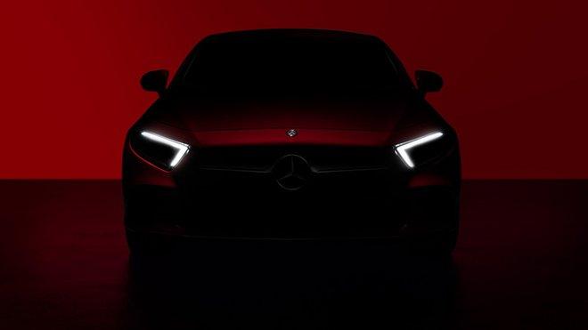 První oficiální snímky nové generace vozu Mercedes-Benz CLS