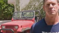 Jeep Wrangler z roku 1989 už sice není v nejlepším stavu, přesto si ho John Cena stále nechává ve své garáži