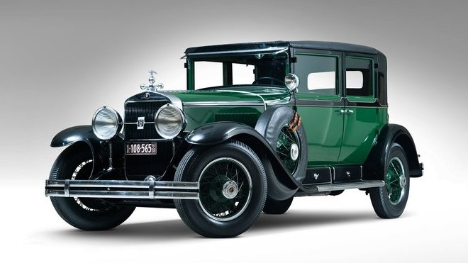 Cadillac Town Sedan, kterým jezdil Al Capone