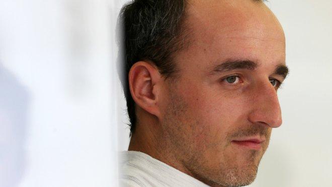 Robert Kubica před testem v Abú Zabí s Williamsem