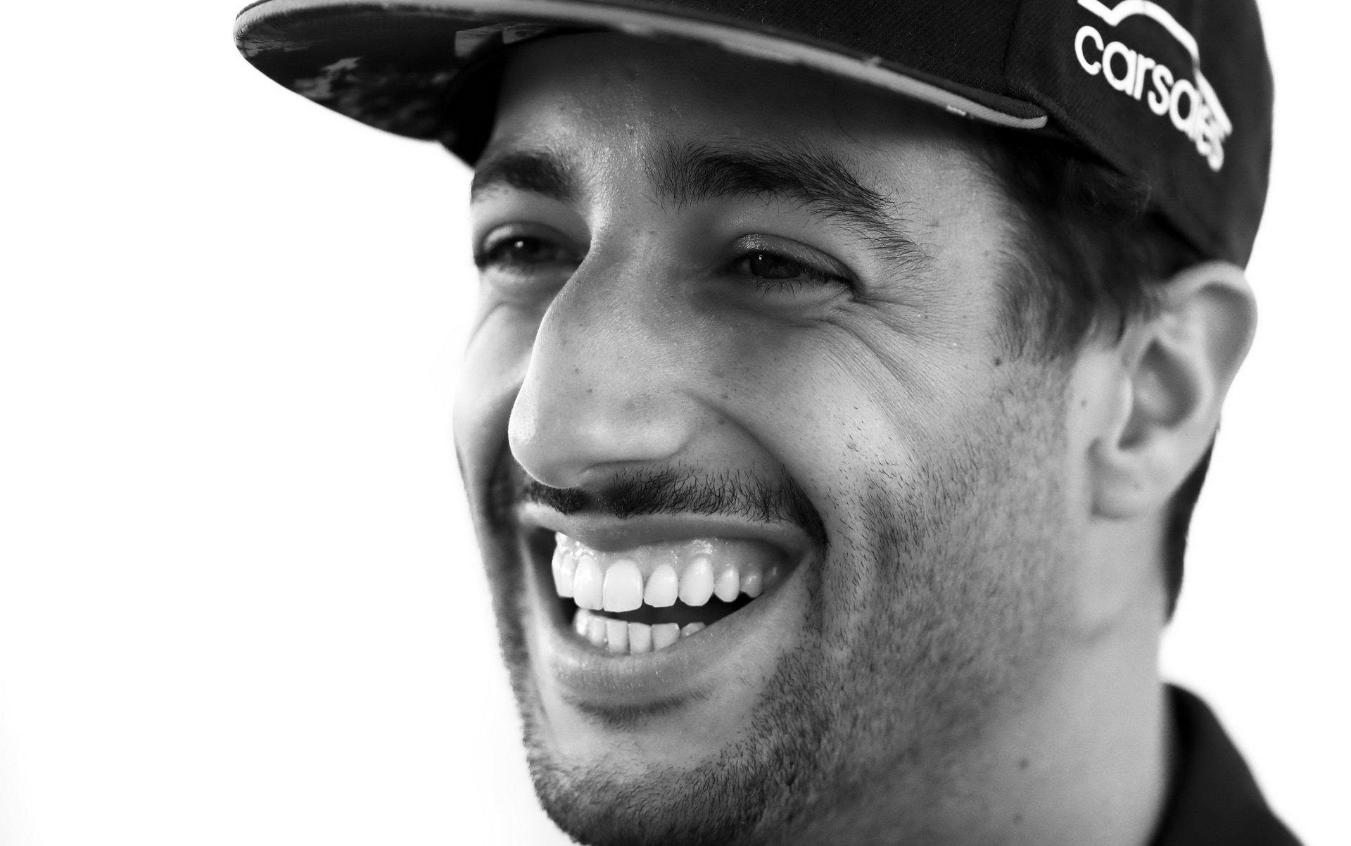 Téměř stále vysmátý Daniel Ricciardo