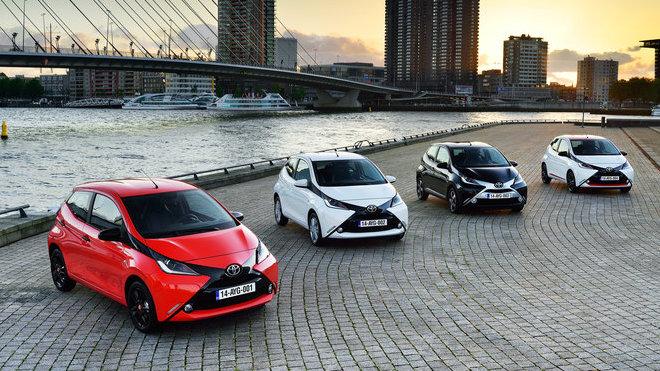 Toyota Aygo získala 1. místo v segmentu městských aut