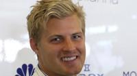 Marcus Ericsson v kvalifikaci v Abú Zabí